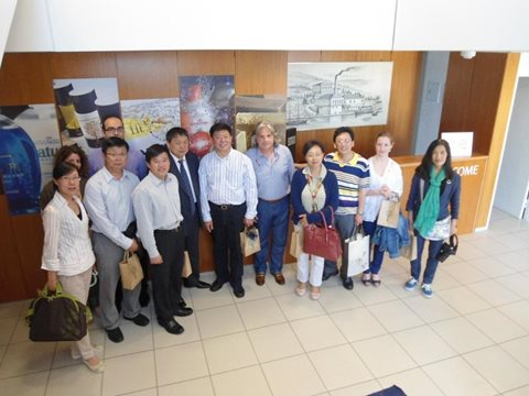 Visit from Chinese Media Representatives